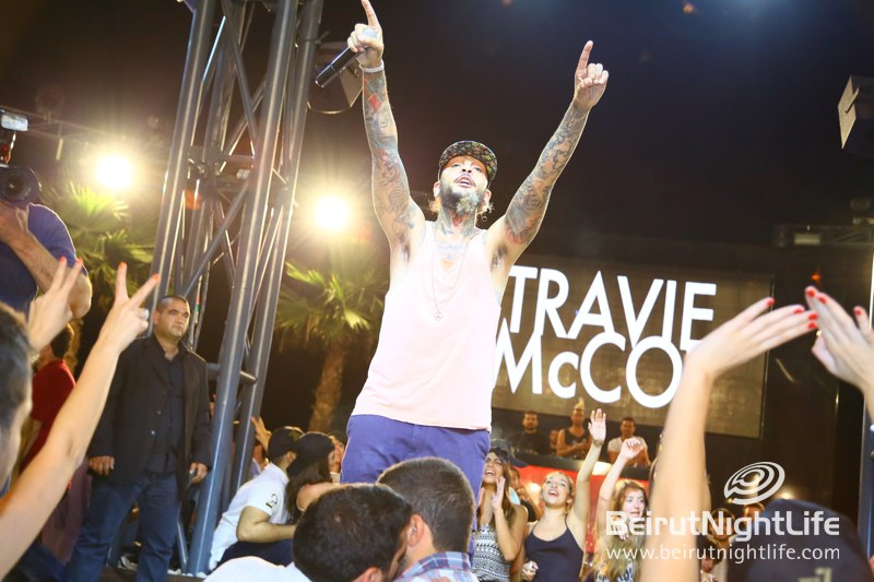 Travie McCoy at Pier 7