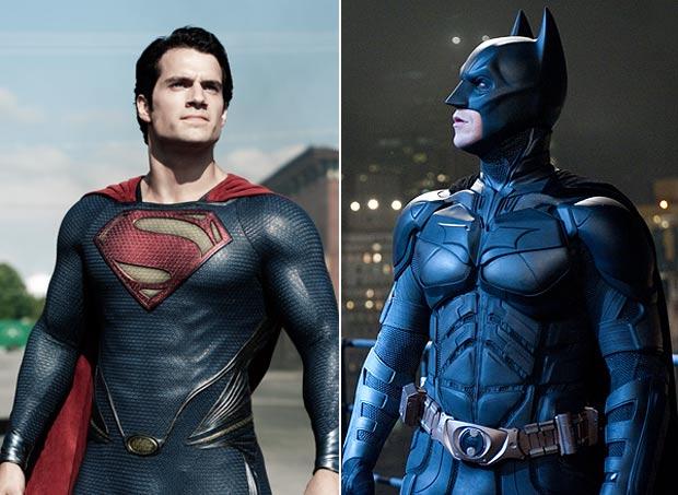 Superman meets Batman in DC movie