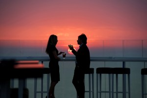 Sunset Spell at Beirut's Highest Rooftop