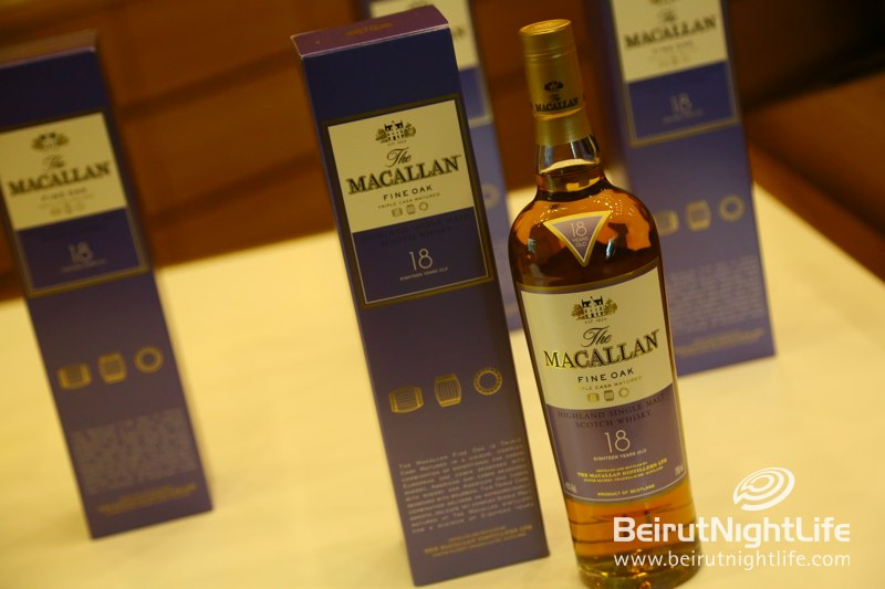 Macallan Whiskey Tasting at Les Caves de Taillevent