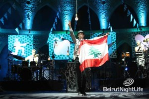 Mika Rocks at Jounieh Festival 2013