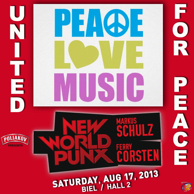 New World Punx: United for Peace Tomorrow Night