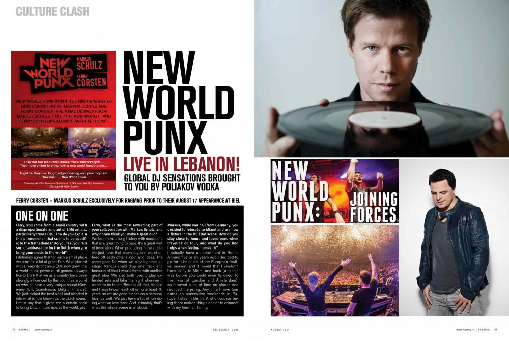 BeirutNightLife.com brings you an exclusive interview with New World Punx executed by RAGMAG Magazine