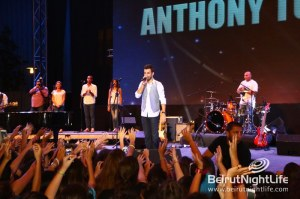 Anthony Touma holds a phenomenal concert at Beirut Holidays 2013