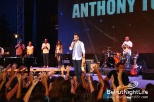 Anthony Touma holds a phenomenal concert at Beirut Holidays 2013