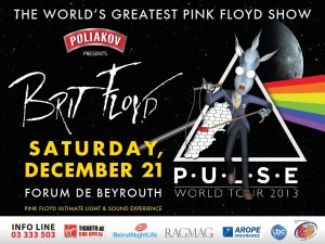 Brit Floyd: P-U-L-S-E 2013 World Tour Beirut
