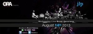 Wednesday Live Band Sessions Featuring JLP