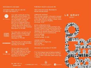 October Offers at Le Gray