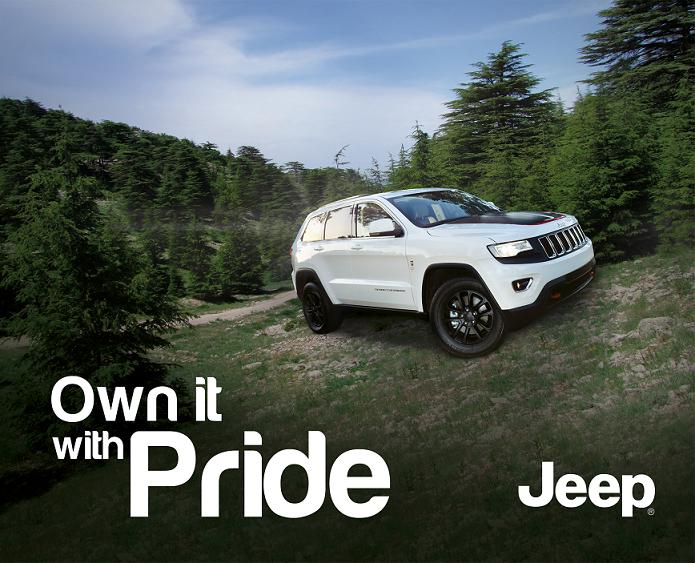 "Exclusive Jeep® Grand Cherokee ""Limited Edition Lebanon"" to celebrate Independence Day"
