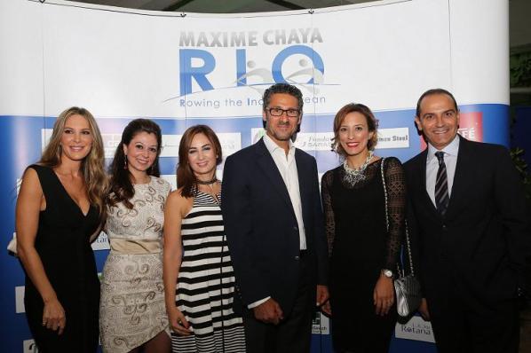 Maxime Chaya RIO celebration