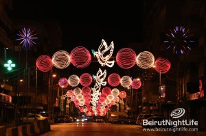 Beirut Lights up for Christmas!