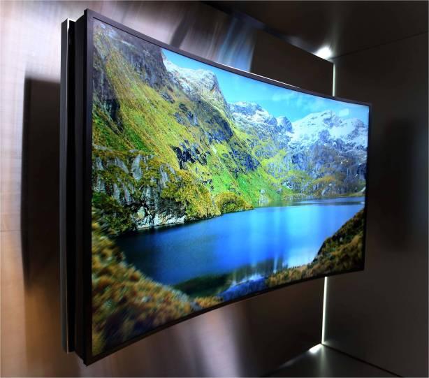 85 inch Bendable UHD TV