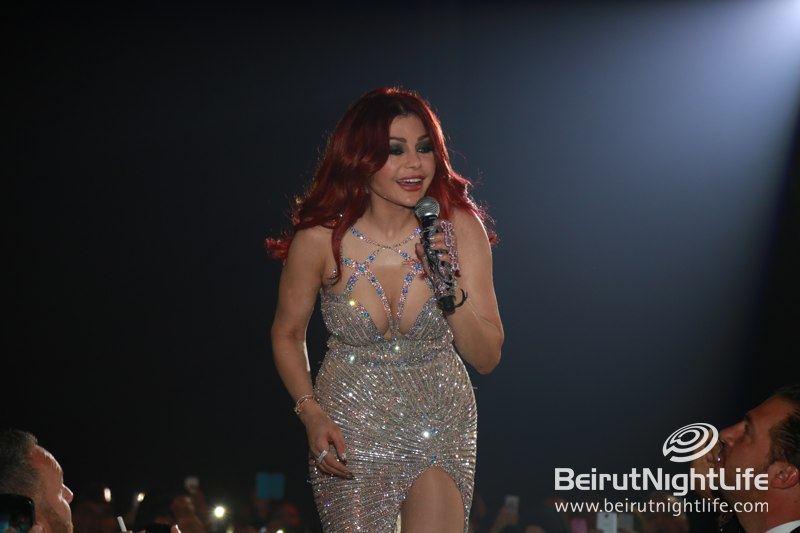 Haifa Wehbe was Ravishing for NYE 2014 at Forum De Beyrouth