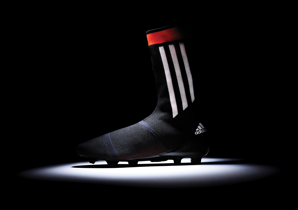 One step ahead: adidas reveal world's first all-in-one knitted football boot and sock hybrid!