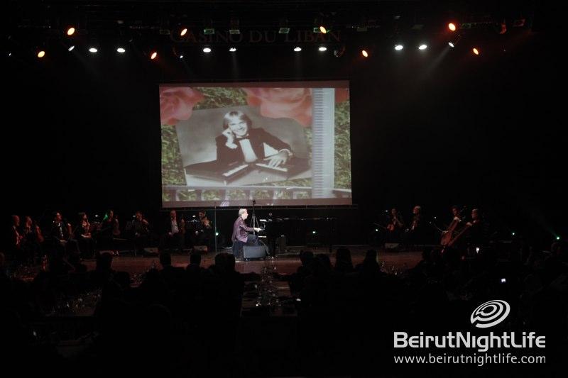 Piano Legend Richard Clayderman Wows at Casino du Liban