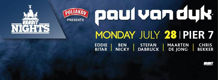 Rediscover the Original Dance Music Master PVD on July 28 at Pier7!