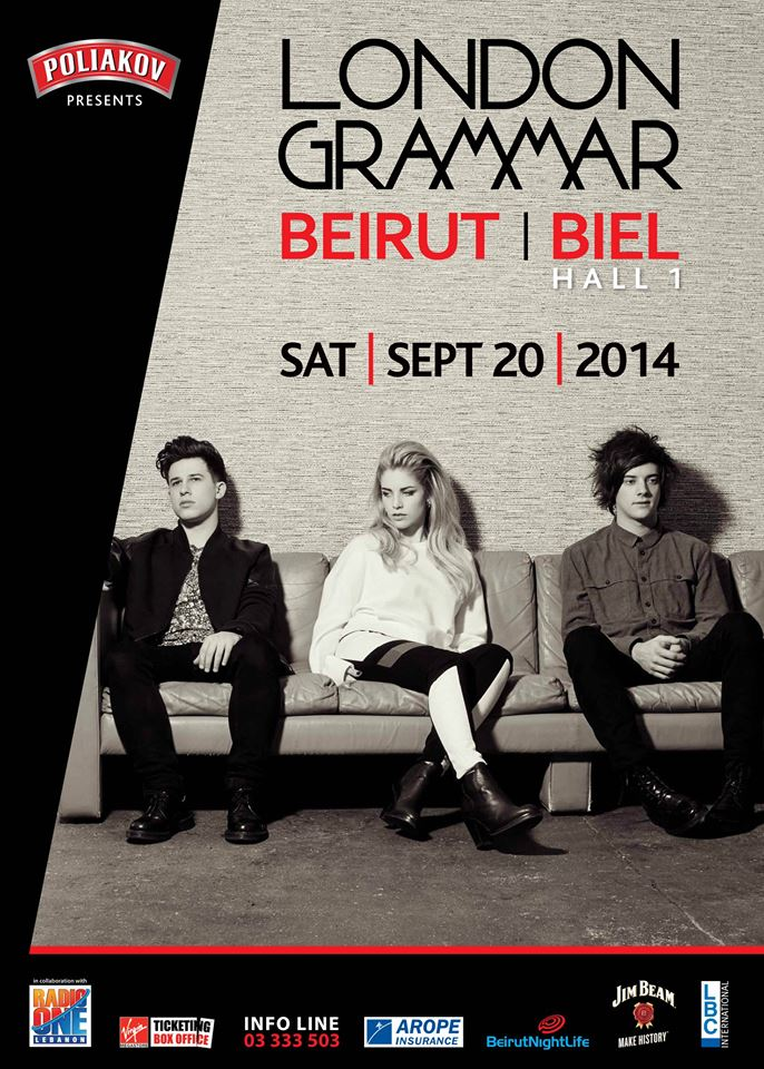 Beirut, Are You Ready for London Grammar on Sept 20?!