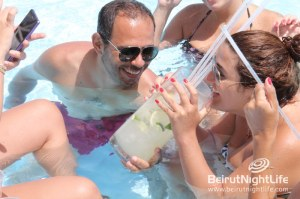 Getting Wet and Wild at Riviera's Pool Party