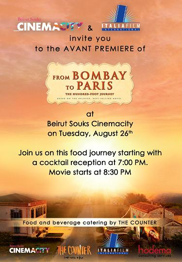 bombay to paris