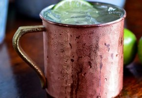 BNL drink of the day: Organic Moscow Mule