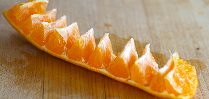 You'll never peel an orange the same way again