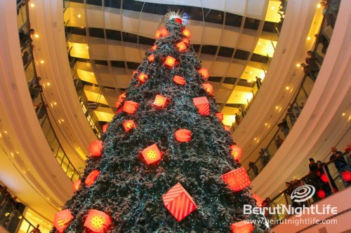 Lighting of the Christmas Tree at City Centre 2014