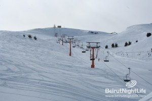 Ski Slopes in Lebanon