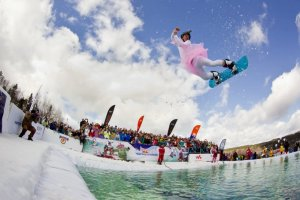 For the first time ever, Red Bull Jump & Freeze hits the slopes of Mzaar!