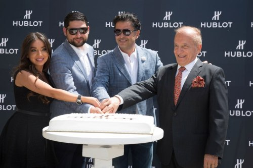 Hublot announces its first Friend of the Brand from the Middle East! Arab Superstar Ragheb Alama joins the Hublot Family!