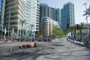 A truly historical day at the Red Bull F1 Showrun Beirut