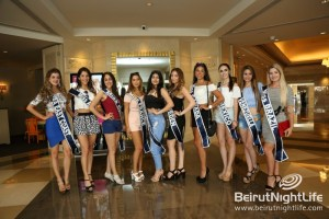 Miss Lebanon Emigrant at Mövenpick Hotel