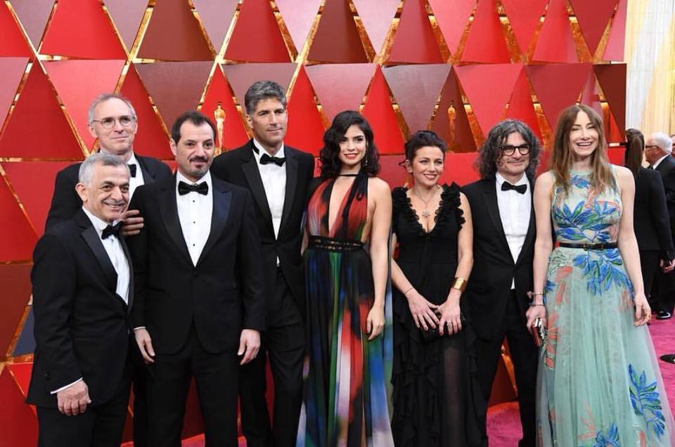 Lebanese Designer Gowns Dazzle at Oscars 2018