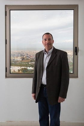 Early tenant in Beirut's newly established Digital District, Nicolas Rouhana is director of Berytech, which has a $6 million fund to invest in startups.