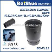 Plastic Sewage Pipe Fitting PVC Expansion Joint Element