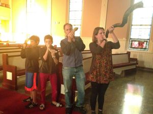 Shofar Blowers