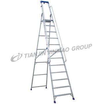 Jinmao - Aluminum ladder 3 MTR with platform
