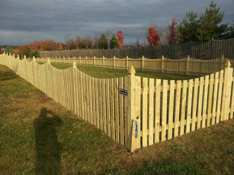 why a wood fence