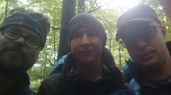 Tre vandrande män