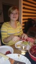 Maria äter