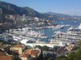 Hamnen i Monaco