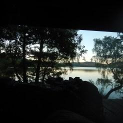 Magisk utsikt över Stora Horredsjön
