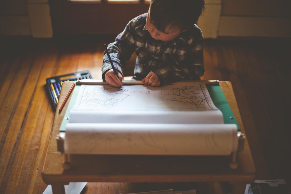 Drawing Desk Tabletop Easel  Beka