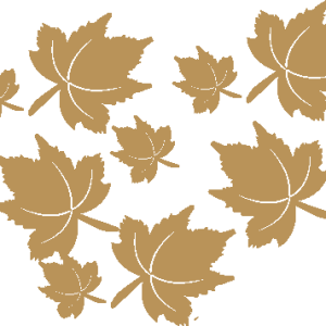 Background - Gold Leaves