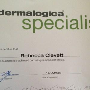 Dermalogica Specialist - Rebecca Clevett