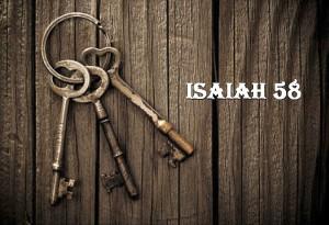 KEYS ISAIAH 58