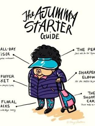 A Korean funny ajummy starter guide