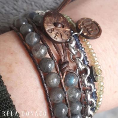 Labradoriet armbanden van Bela Donaco