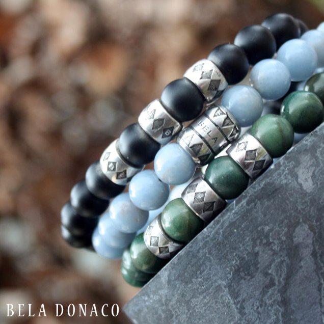 Luxury herenarmbanden met nieuwe Bela Donaco kralen