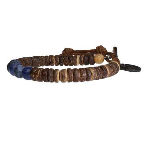 Armband Basic B8 – Sodaliet – Kokos