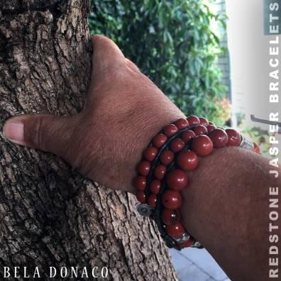 Nieuw heren Armbanden van Redstone Jaspis. De Luxury B10 en Classic B8